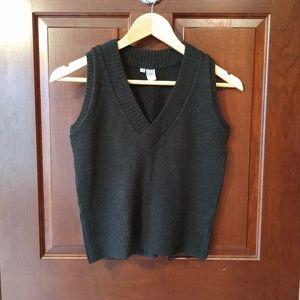 Vintage Italian wool sweater vest